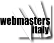 Webmasters in Italy